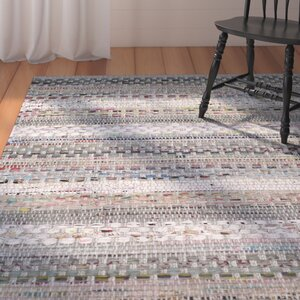 Vesey Hand-Woven Gray/Brown Area Rug