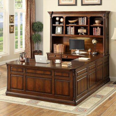 Antoine 4 Piece U Shape Desk Office Suite
