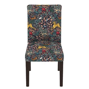 bowmont linen upholstered side chair - Printed Accent Chairs