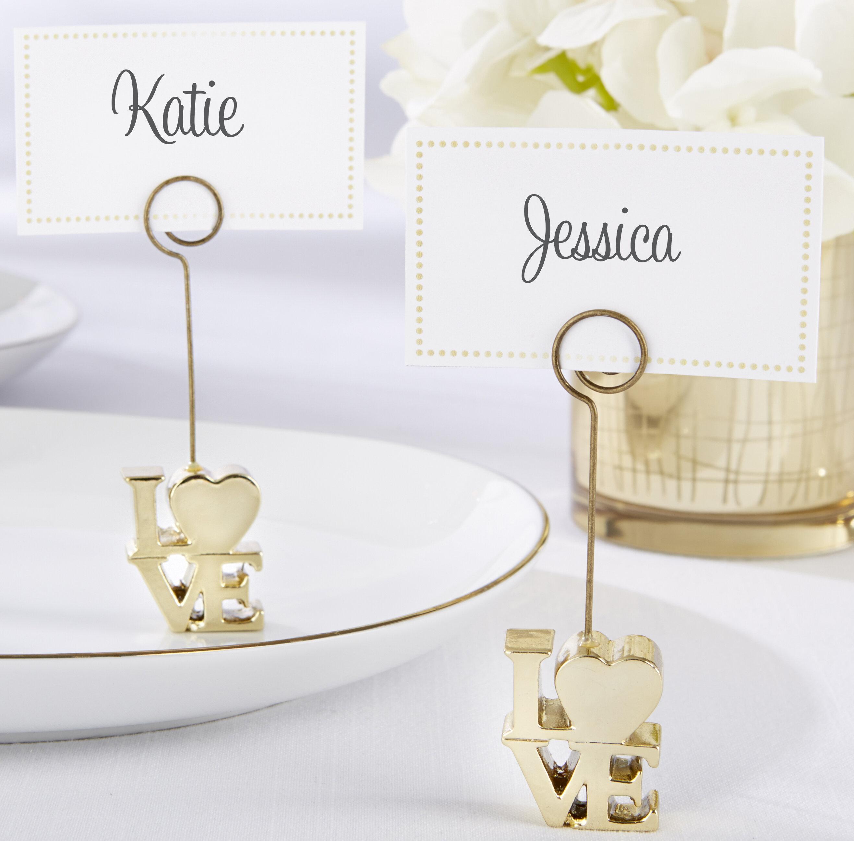 Kate Aspen Love Place Card Holder | Wayfair