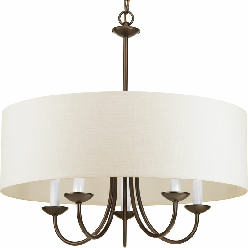 Lanark 5-Light Drum Chandelier - Chandeliers Joss & Main