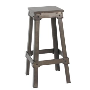 French Industrial Counter Bar Stool (Set of 2)  sc 1 st  Wayfair & French Bistro Counter Stools | Wayfair islam-shia.org
