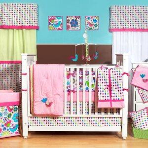 Botanical 10 Piece Crib Bedding Set