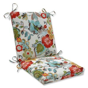 Lovely Alatriste Squared Corners Outdoor Dining Chair Cushion