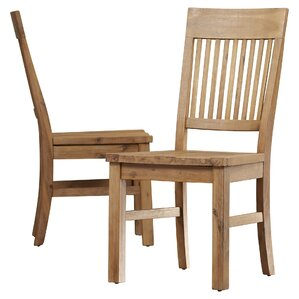 Chugwater Solid Wood Dining Chair (Set Of 2)