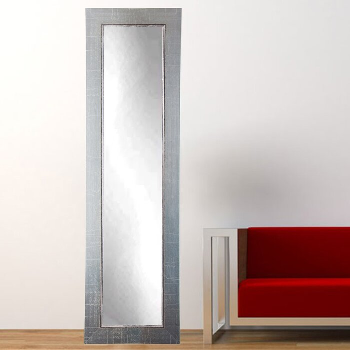 BrandtWorksLLC Designers Choice Antique Silver Tall Floor Mirror ...