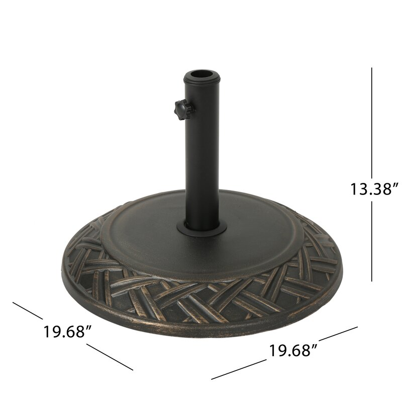 Morgenstern Concrete Free Standing Umbrella Base