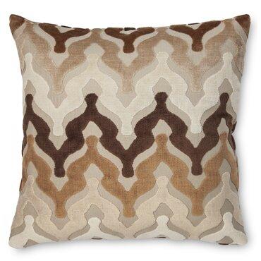 bella velvet throw pillow