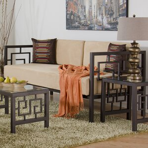 Greek Key Daybed with Mattress by In Style Furnishings
