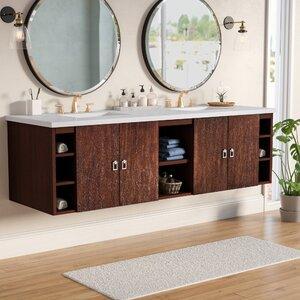 Hobbs 72 Double Bathroom Vanity Set
