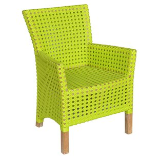 Derby Indoor/Outdoor Teak U0026 Rattan Arm Chair