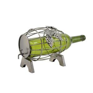 Barrel 1 Bottle Tabletop Wine Rack by Three Star Im/Ex Inc.