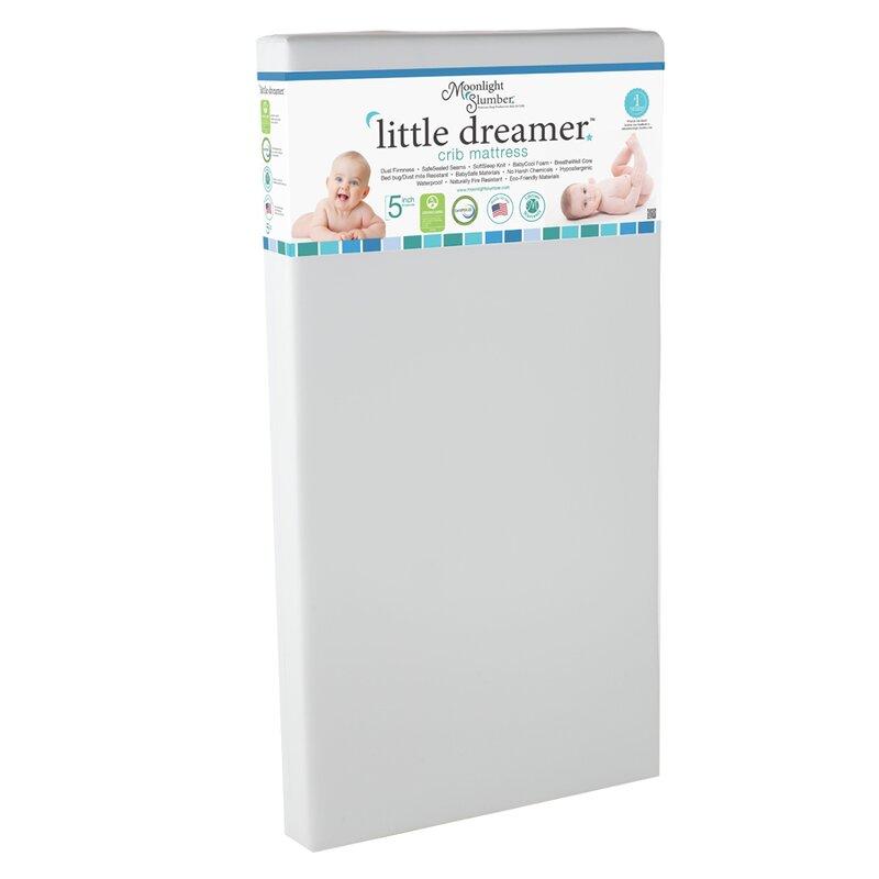 Little Dreamer All Foam Crib Mattress Reviews Allmodern