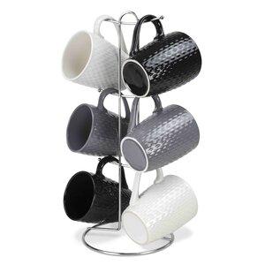 Stoneware Mugs Set (Set of 6)