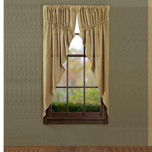 Burlap Curtains You\'ll Love | Wayfair