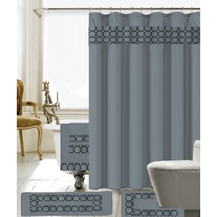 Black Shower Curtain Curtains Youll Love