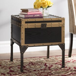 Ordinaire Hirst End Table With Storage