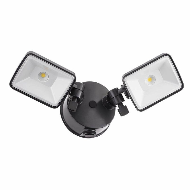 Lithonia Outdoor Security Lighting: Lithonia Lighting OFL 26-Watt LED Outdoor Security Flood