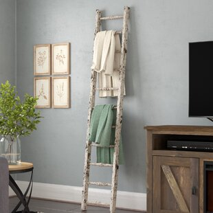 Wood 5 Ft Blanket Ladder