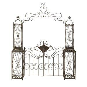 Iron Arbor with Gates