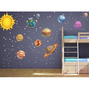 DIY Solar System Wall Decal