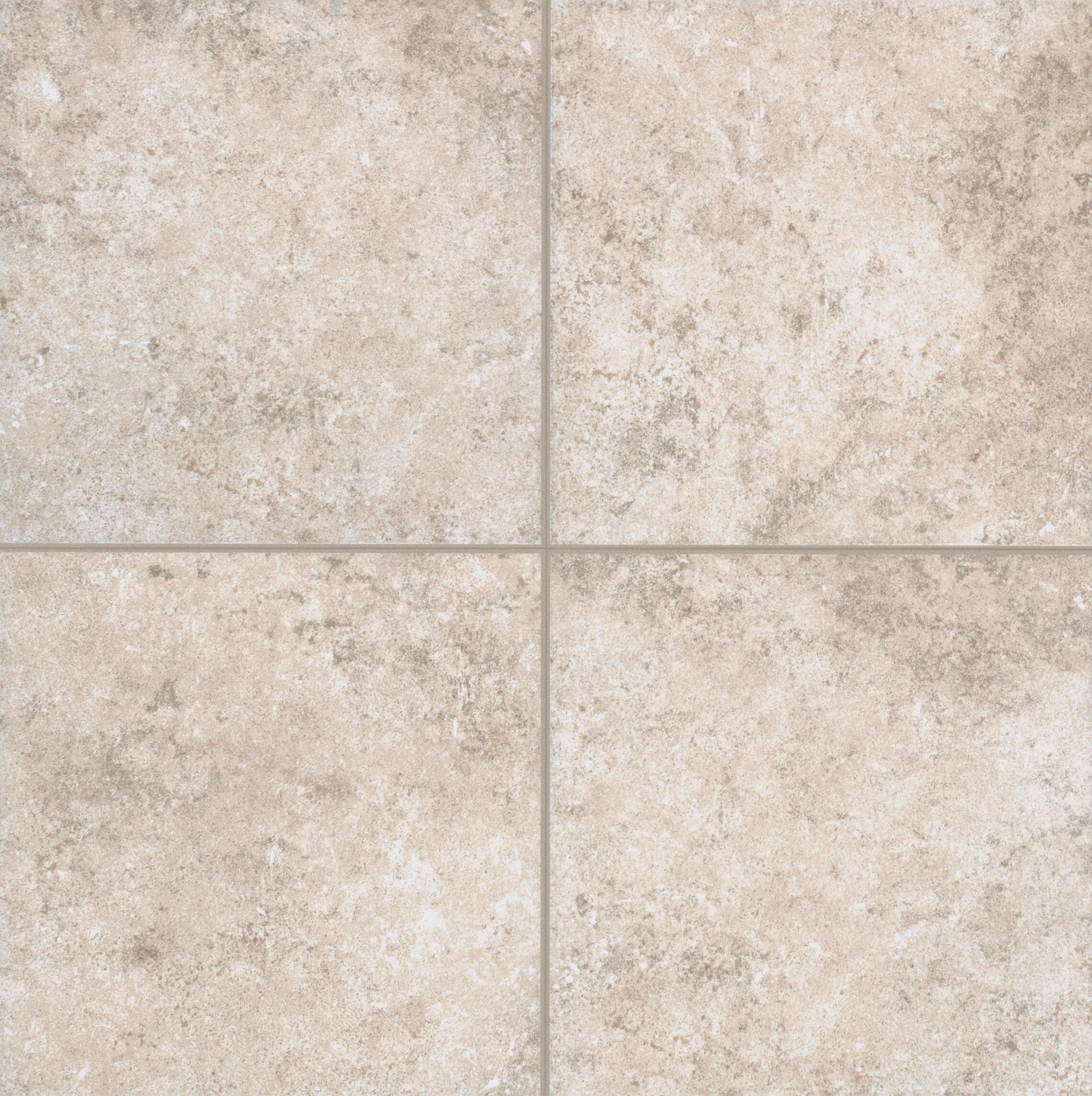 Mohawk Pensdale Floor Glazed 18 X Porcelain Field Tile In White Shell Wayfair