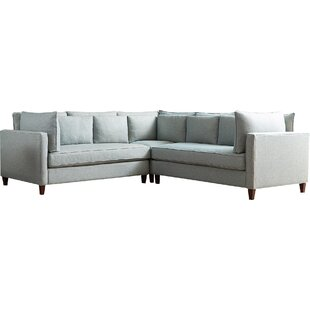 Modern & Contemporary Corner Unit For Sectional Sofa | AllModern
