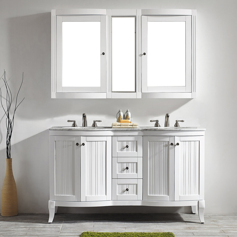 bathroom exquisite and reviews mission fully sink on assembled inch adelina vanity double