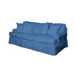 Light Blue Sofa Slipcover   Wayfair