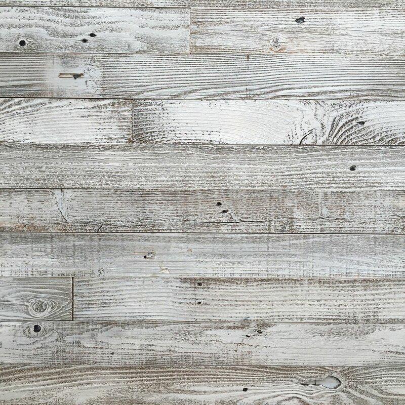 "PlankandMill 3"" Reclaimed Barnwood Peel and Stick Wall ..."