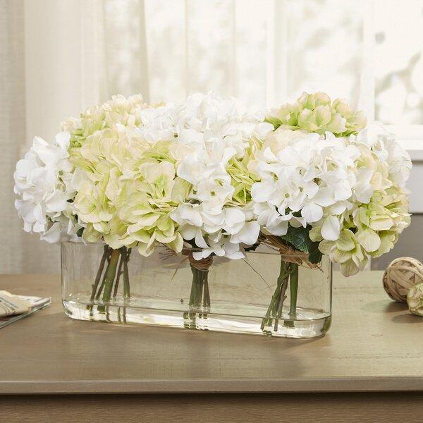 Faux white green hydrangea reviews joss main