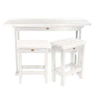Amelia Balcony 3 Piece Pub Table Set