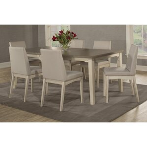 Kinsey 7 Piece Removable Leaf Dining Set by Rosecliff Heights