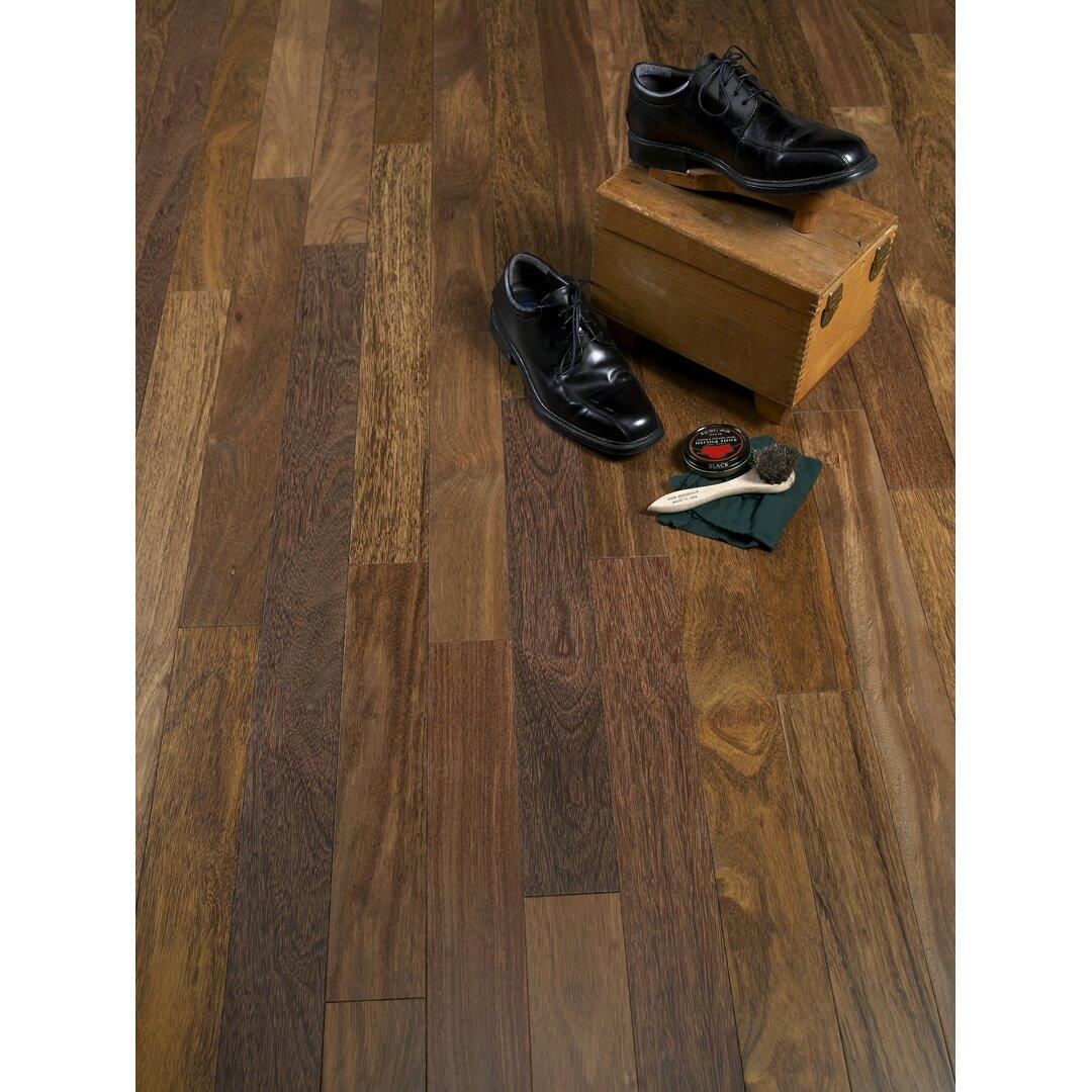 "Albero Valley 3-1/4"" Solid Sucupira Hardwood Flooring In"