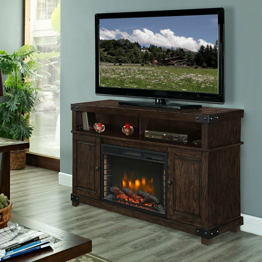 Muskoka Hudson 53 Tv Stand With Electric Fireplace Reviews