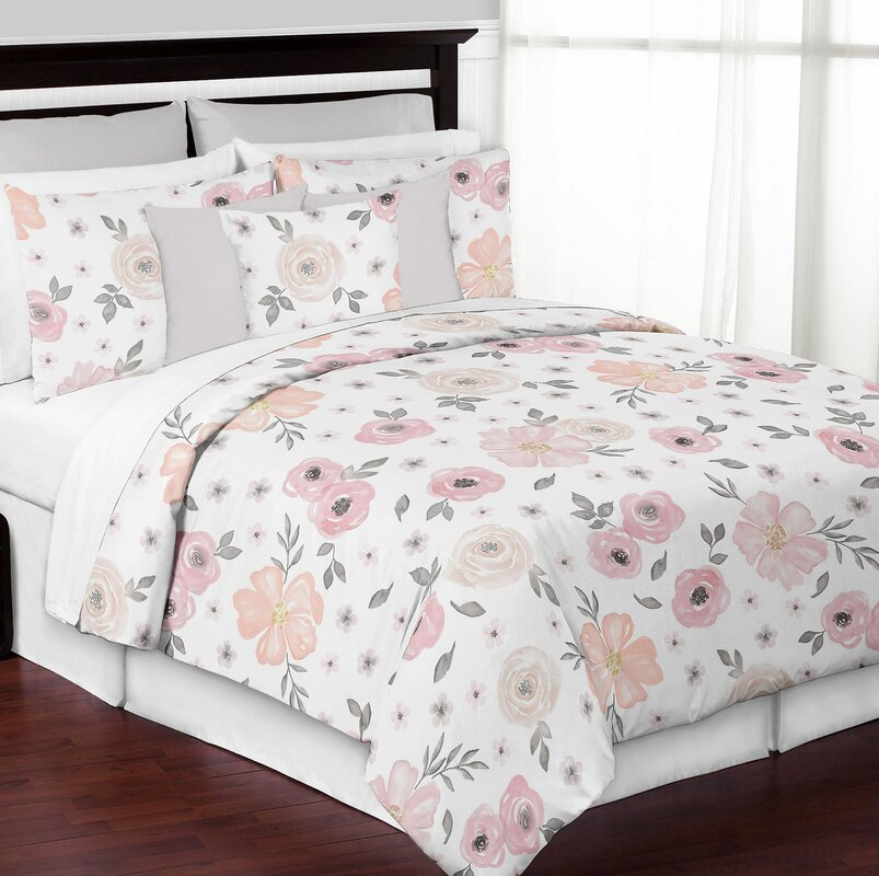 Sweet Jojo Designs Floral Comforter Set Amp Reviews Wayfair Ca
