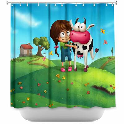My Moo Cow Shower Curtain