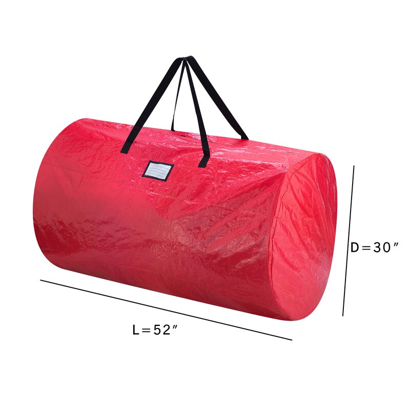 Amazing Deluxe Christmas Tree Storage Bag And Canvas Wreath Bag