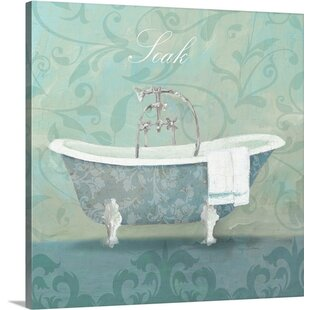 U0027Damask Bath Tubu0027 Avery Tillmon Graphic Art Print