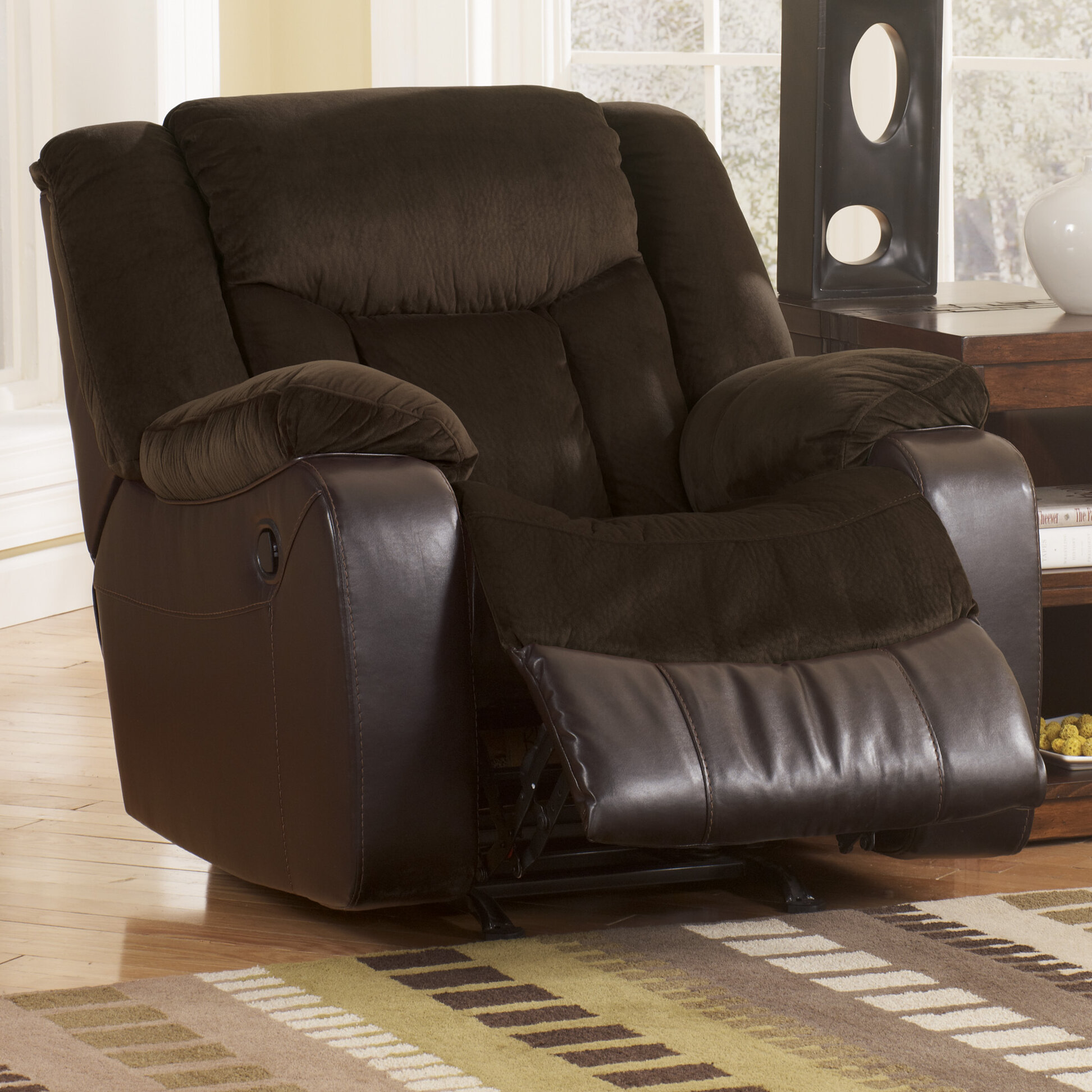 mega stardust motion and ultimate curbside length recliner capacity inches lbs delivery chaise ext power nm lounger weight free