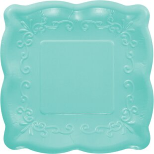 Similar Disposable Plates u0026 Bowls Below  sc 1 st  Wayfair & Creative Converting Embossed Paper Dinner Plate | Wayfair
