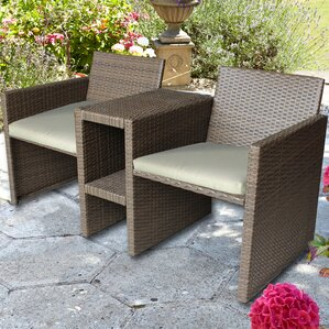 2 seater rattan love seat - Garden Furniture Love Seat
