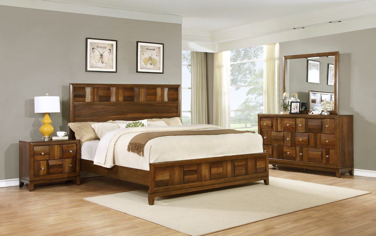 wood bedroom furniture sets roundhill furniture calais panel 4 bedroom set 17880