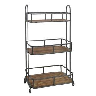 3 tier bar cart narrow bar nappi tier bar cart wayfair