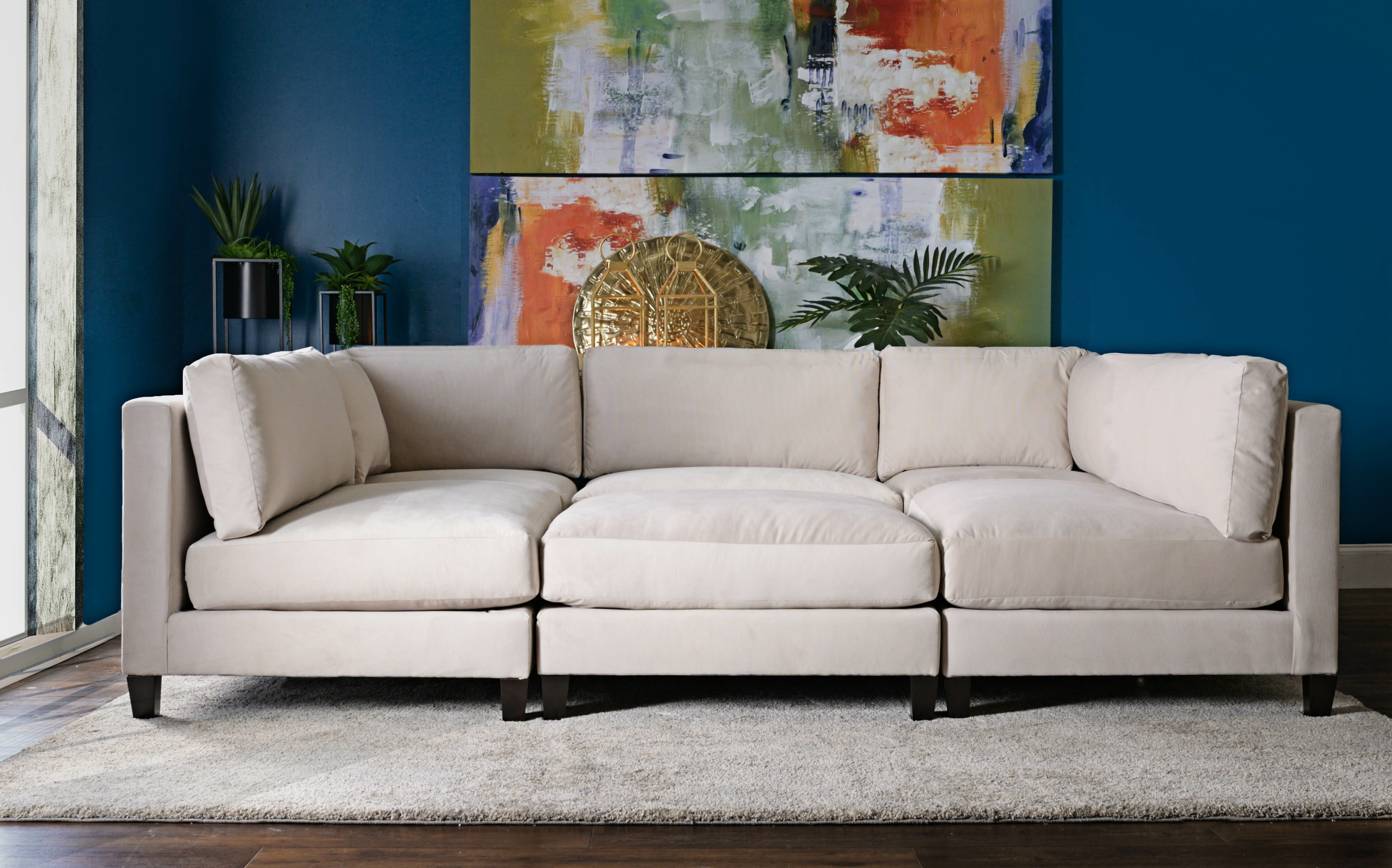 Fine Chelsea Reversible Sleeper Sectional With Ottoman Dailytribune Chair Design For Home Dailytribuneorg