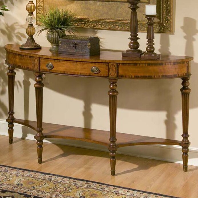 Butler Connoisseur\'s Demilune Console Table & Reviews | Wayfair