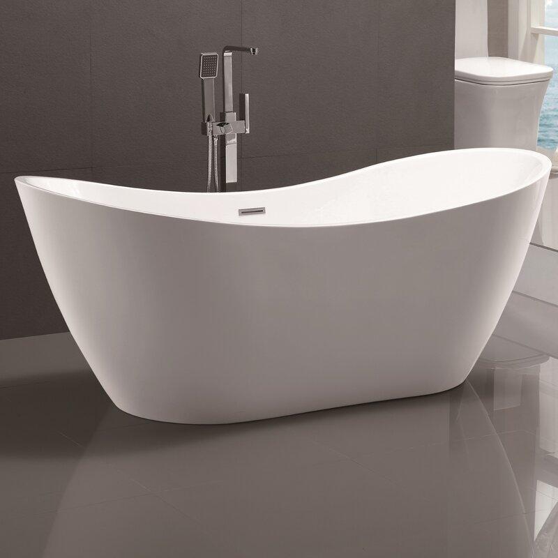 Modern Freestanding Tub Tubs Whirlpools AllModern