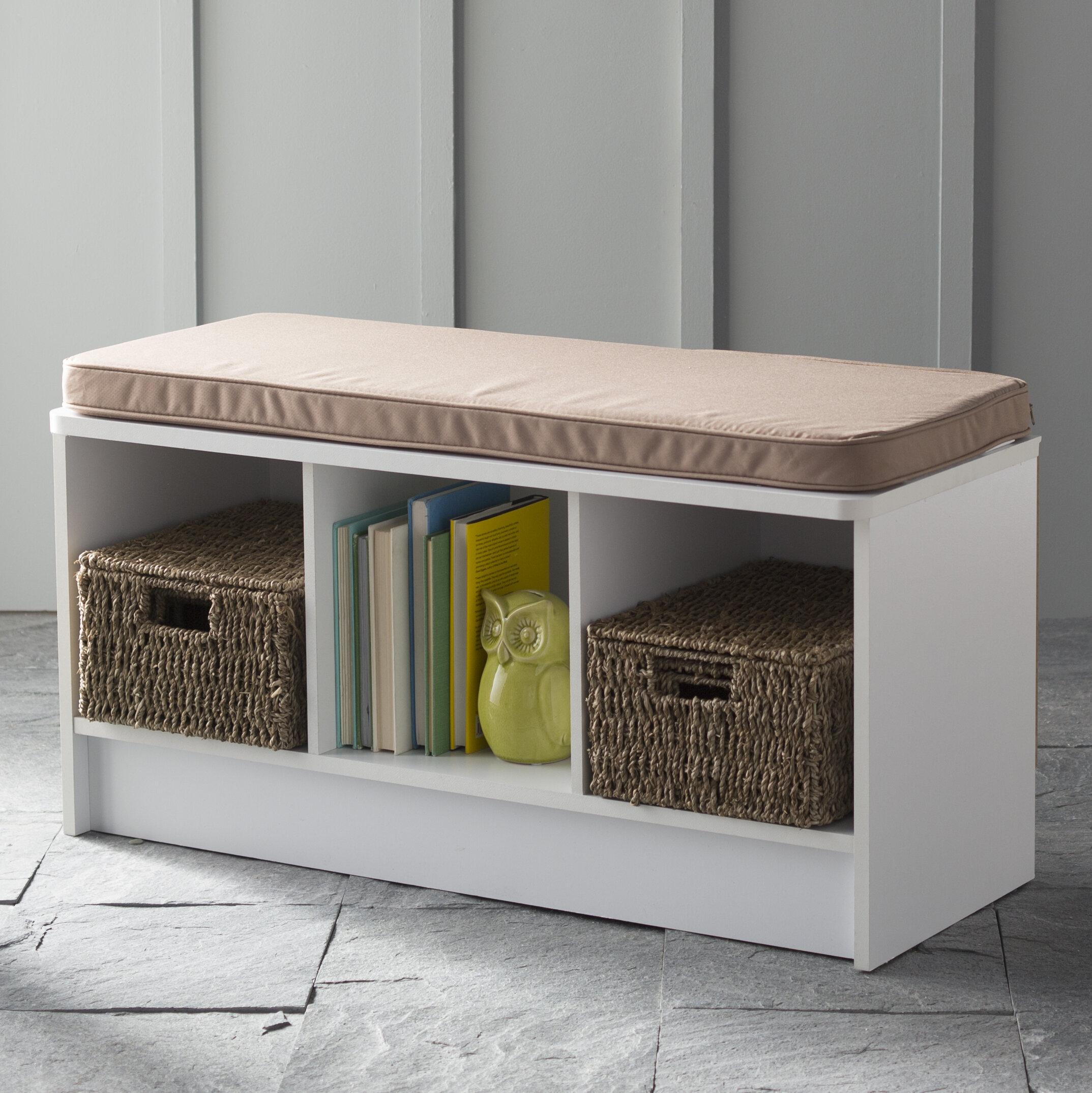 ClosetMaid Cubicals Shoe Storage Bench U0026 Reviews | Wayfair