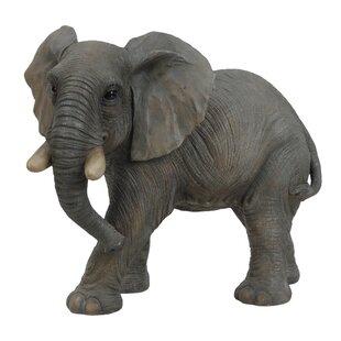 Walking Elephant Figurine