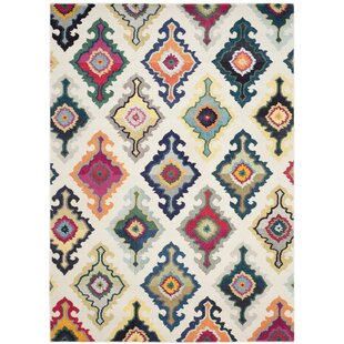 Marylou Ivory Green Pink Rug
